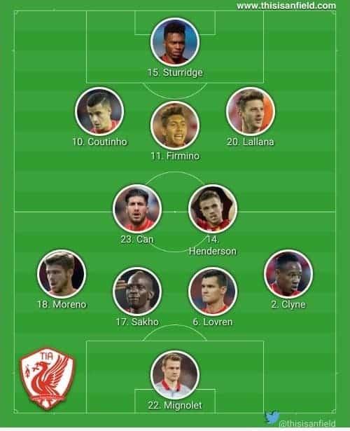 United XI unchanged