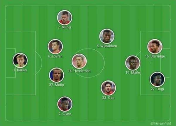 Saints XI 3 - 4-4-2