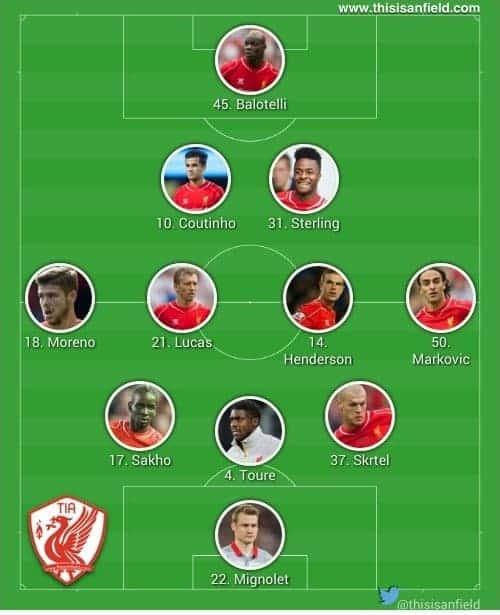 Sunderland line up 2