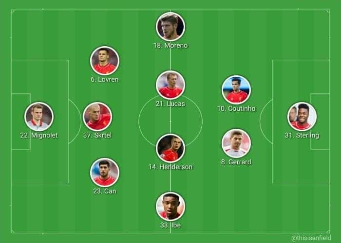 Chelsea XI 3-4-2-1