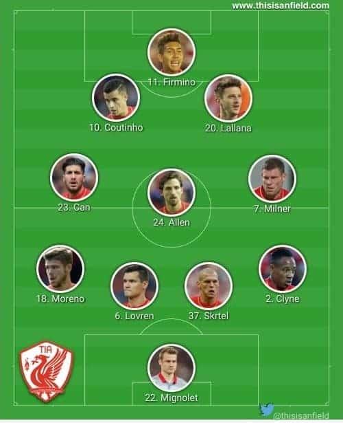 Swansea false 9 XI
