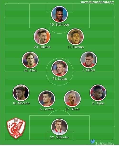 Newcastle 4-3-2-1