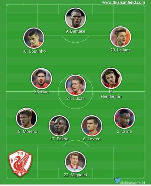Leicester 4-3-3