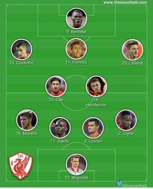 Sunderland 4-2-3-1