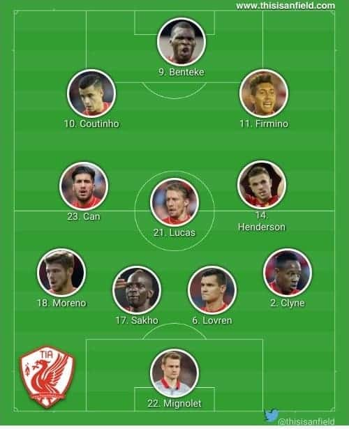 Sunderland 4-3-3