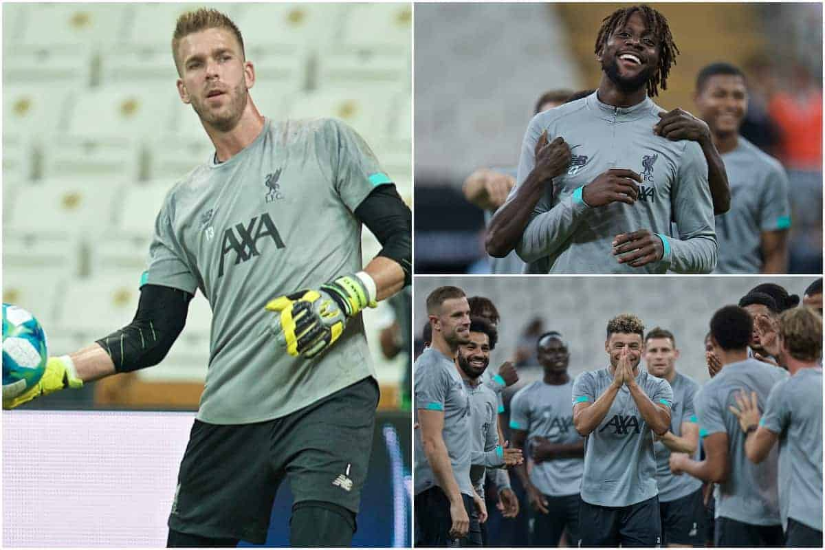 Photos: Liverpool train in Istanbul ahead of Super Cup but Naby Keita walks off injured