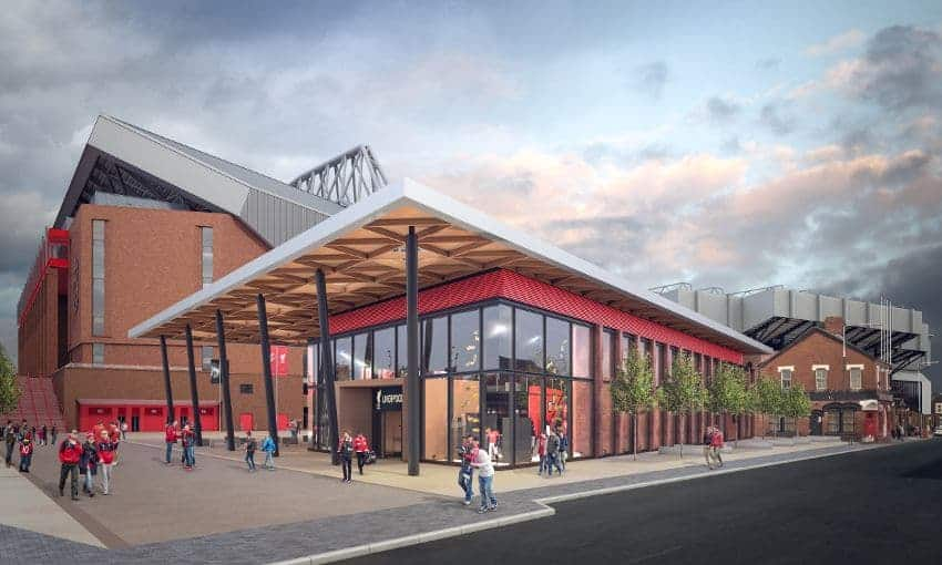 Liverpool S New Club Shop To Begin Construction Next Week