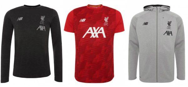 timeless design e61ec 4cfc8 Liverpool FC new training kit for 2019/20