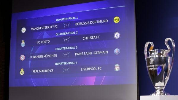 Champions League draw 2021 (UEFA handout)