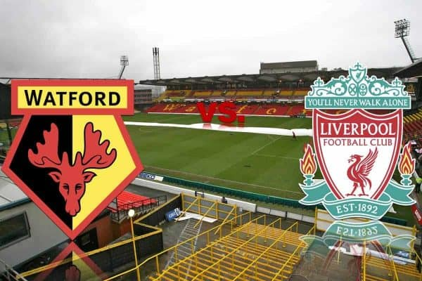 Watford vs Liverpool Live streaming logo match prediction